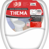 Assento sanitário almofadado Thema, branco - Herc