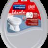 Assento sanitário Envolvente, Ideale, cinza claro - Herc