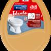 Assento sanitário Envolvente, Ideale, caramelo - Herc
